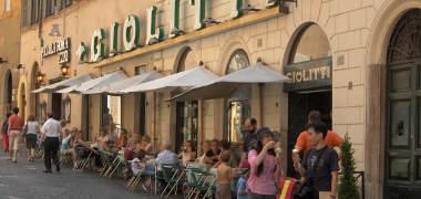 Cafe helado roma
