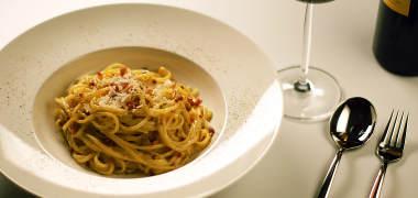 Comida en Roma